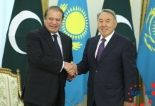 Nawaz, Nazarbayev meeting in Astana decided to start a new page in bilateral relations