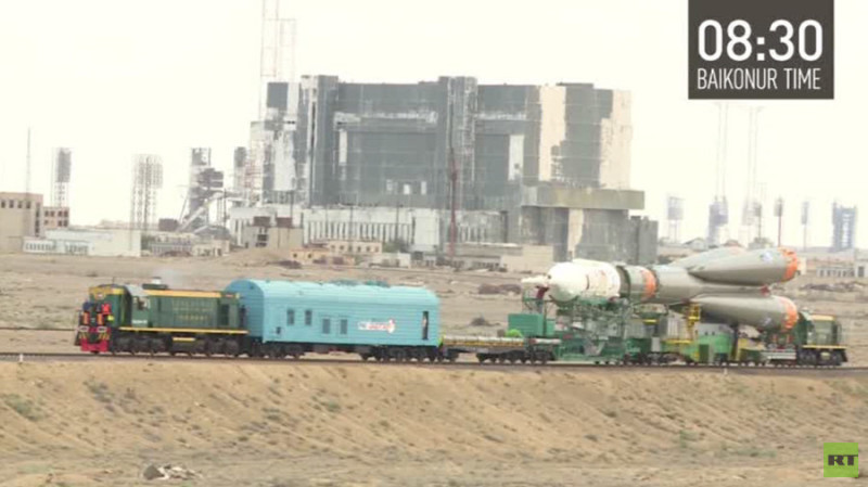 The first Danish astronaut lifted off from Baikonur Cosmodrome