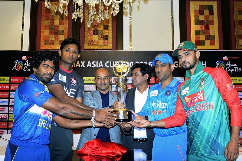 CRICKET-BAN-ASIA-CUP-TROPHY