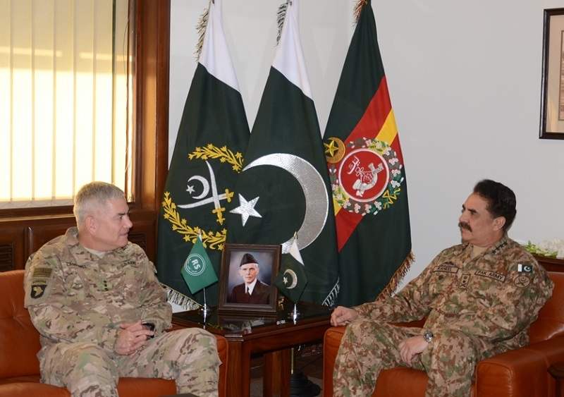 Campbell, Raheel review ongoing Afghan reconciliation process