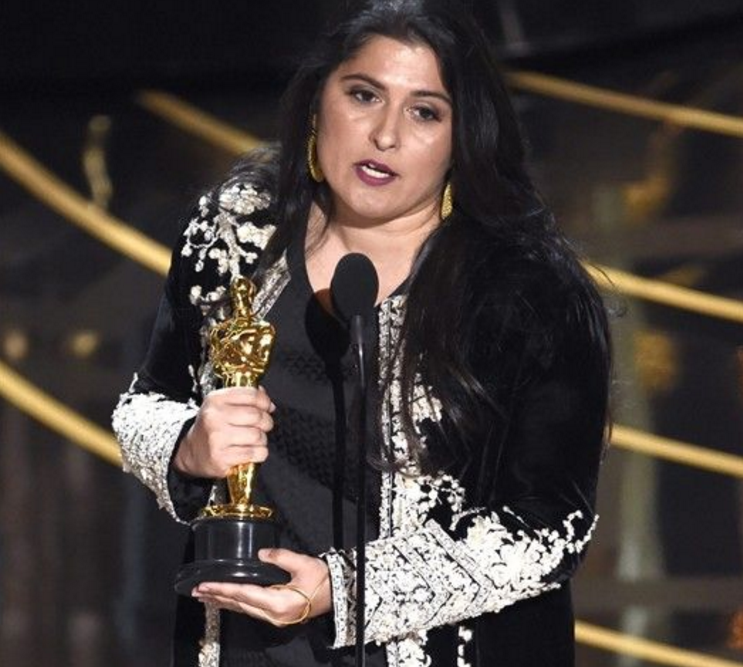 Sharmeen Obaid Chinoy after receiving second Oscar