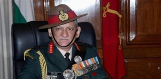 New Indian Army chief Lt General Dr Bipin Rawat takes charge