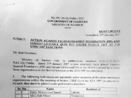 The story behind preventive detention of Hafiz Saeed